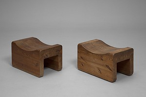 "Pair of ""Utö"" Stools"