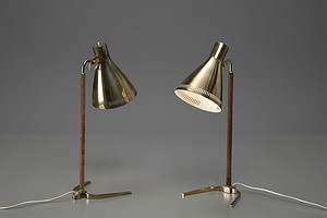 Pair of Paavo Tynell Table Lamp