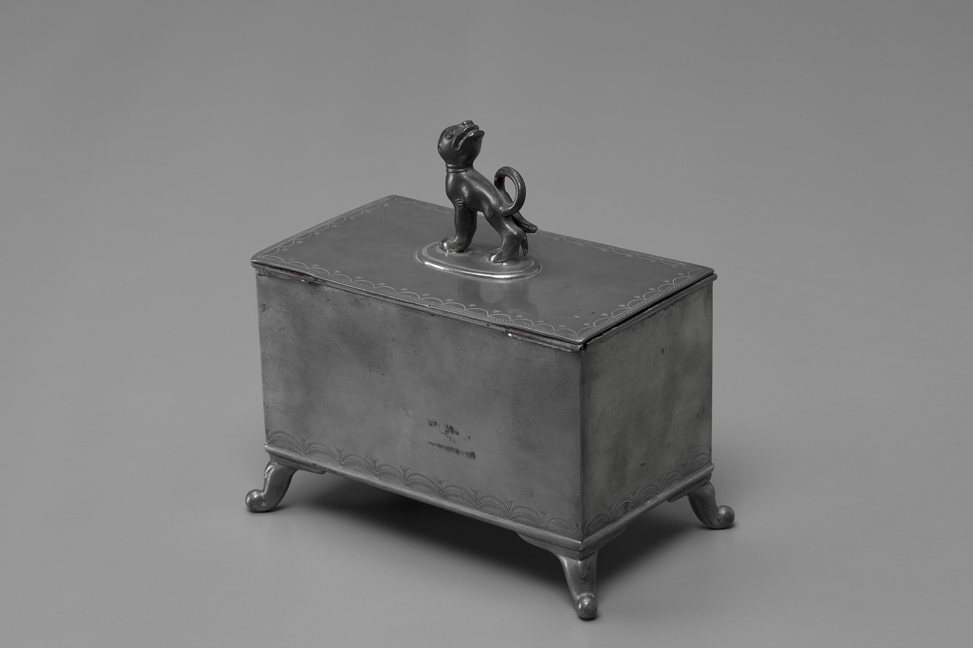 Pewter Box with Lid