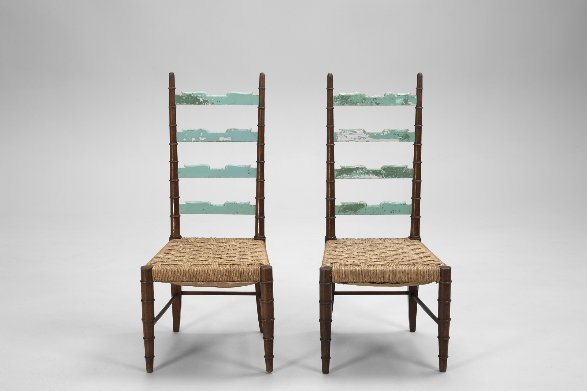 Pair of Italian Neoclassical Chairs