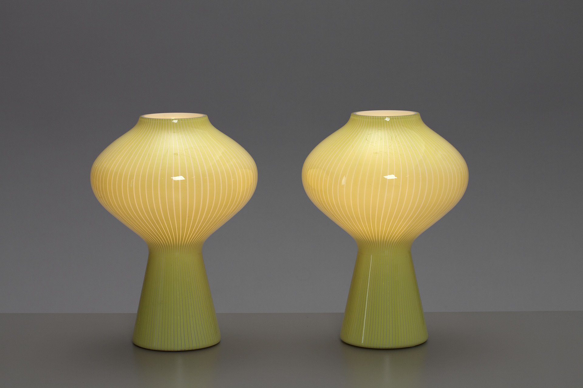 "Pair of ""Fungo"" Table Lamps"