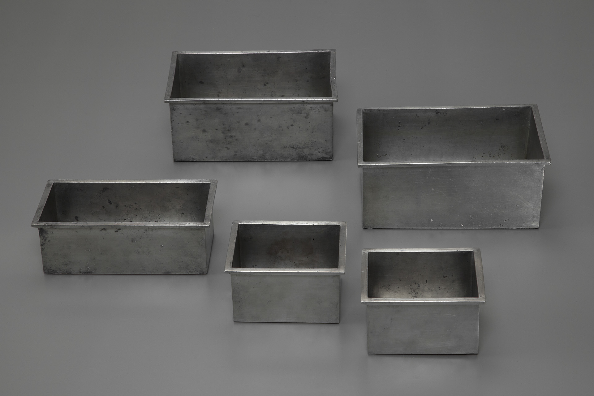 Set of Five Planters