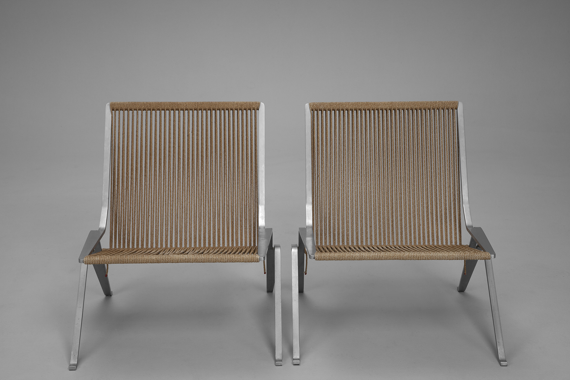 Pair of PK-25 Chairs