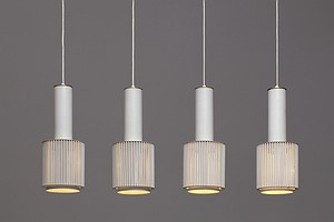 Set of Four A111 Ceiling Lamps
