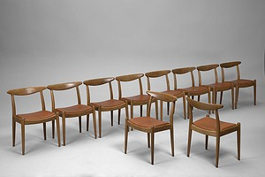 Ten Dining Chairs