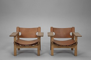 "Pair of ""Spanish"" Chairs"