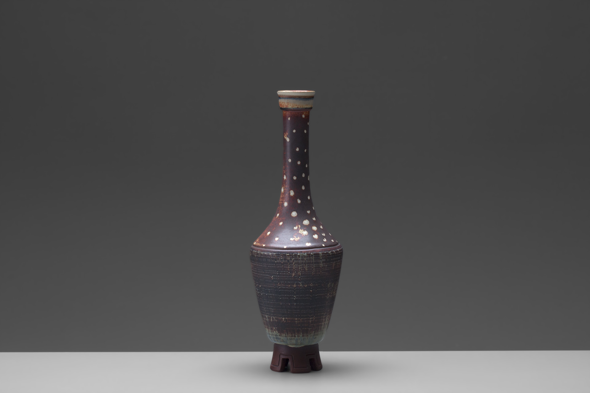 "Footed ""Farsta"" Vase"
