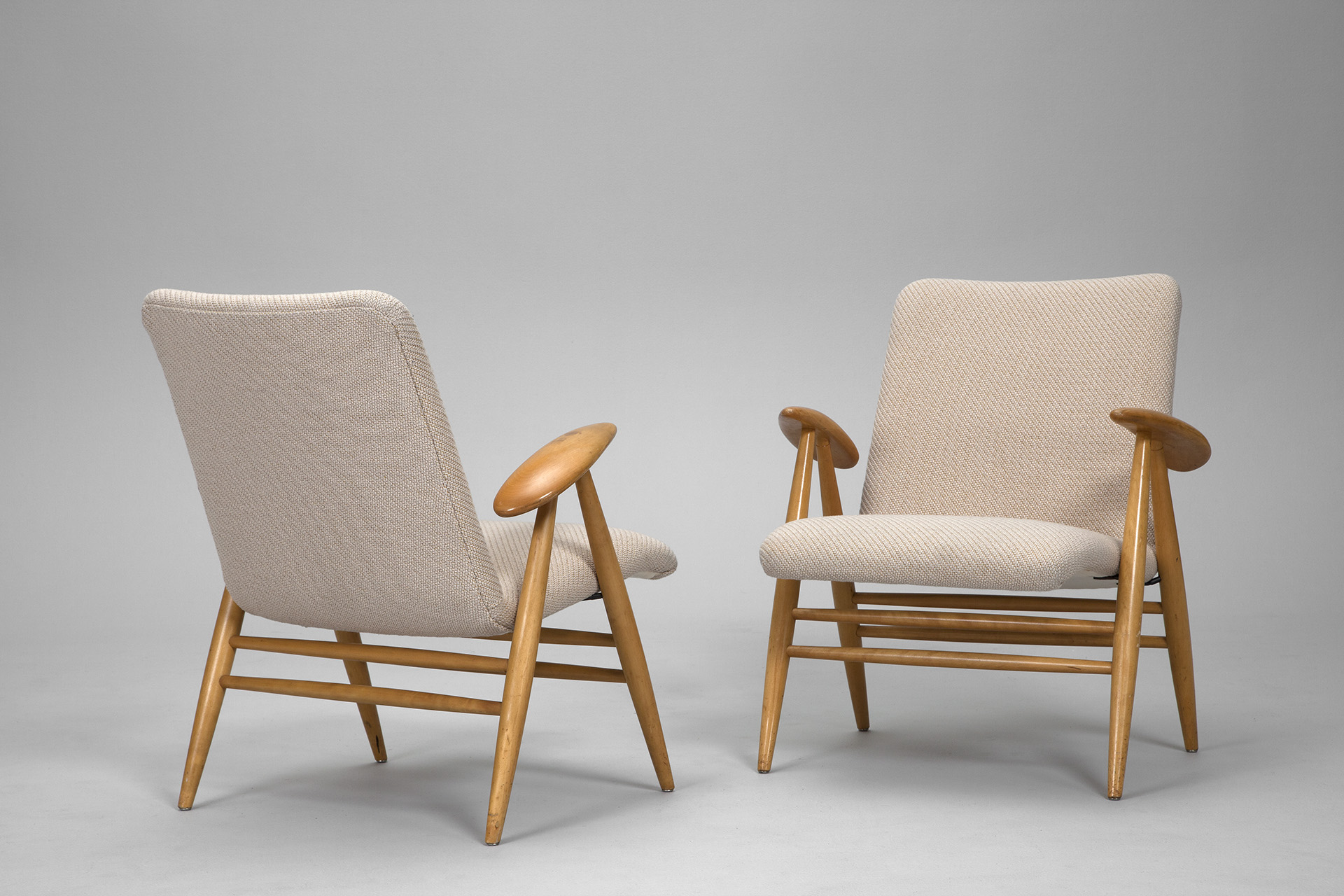 Pair of  'Eve' Armchairs