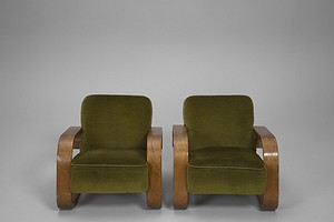 Pair of Tank Chairs