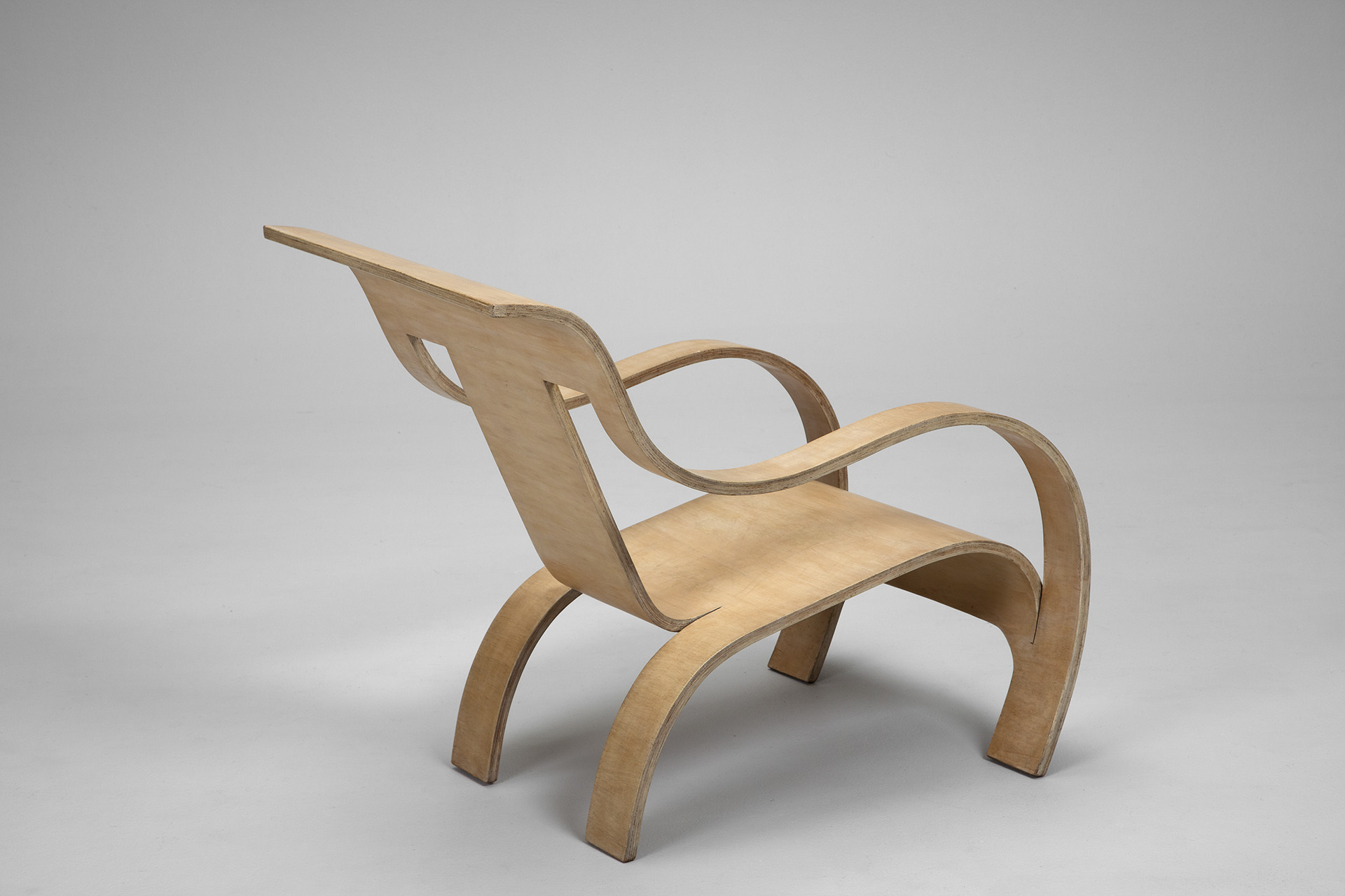 Laminated Plywood Armchair