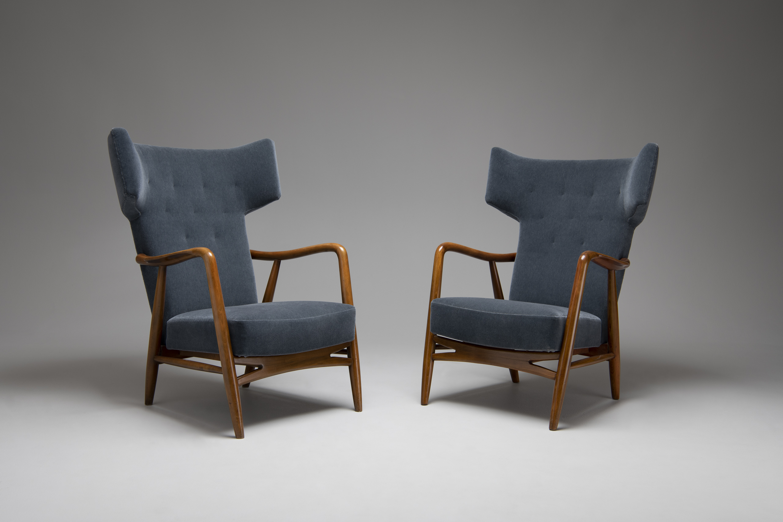 Pair of Wingback Easy Chair