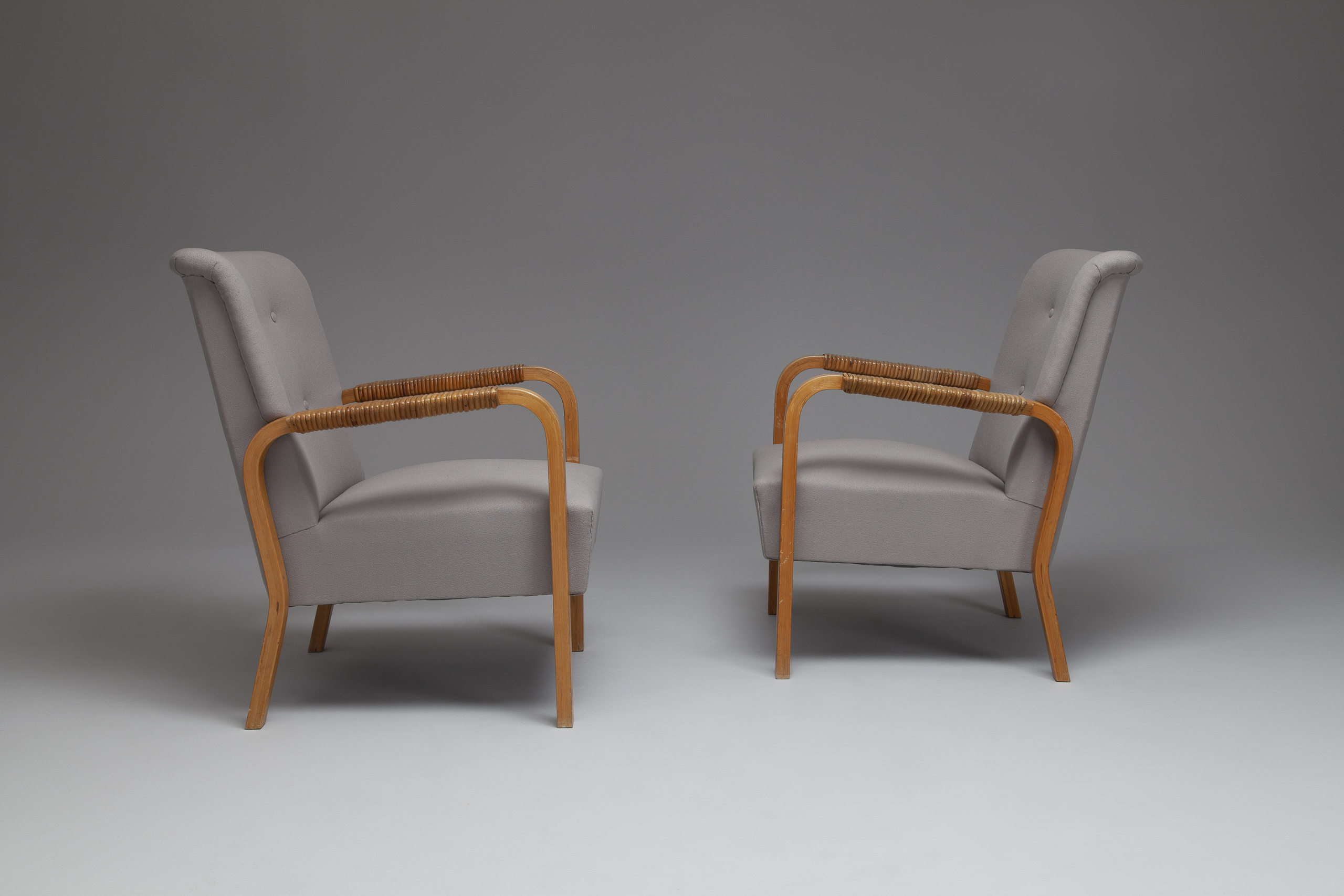 Pair of Armchairs, Model No. 47