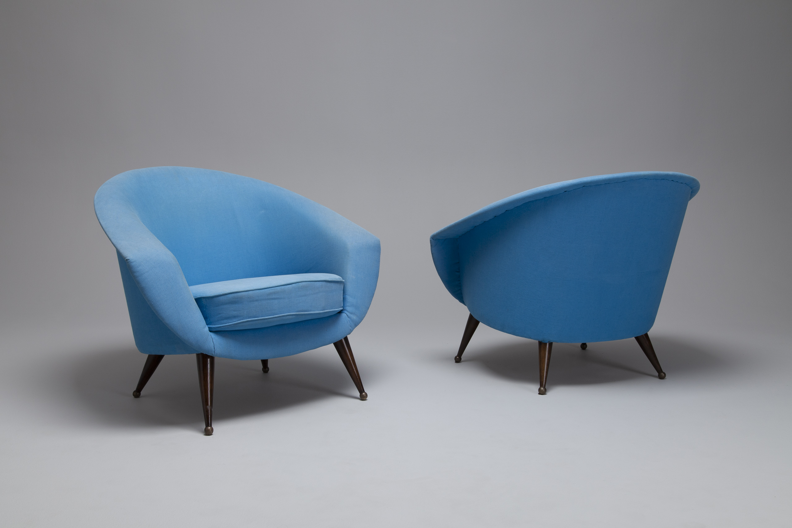 Pair of 'Tellus' Easy Chairs