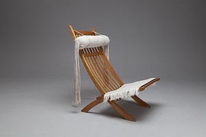 Rare Asian Lawn Chair, model no. JH-603