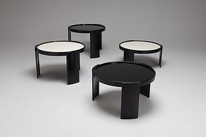 Set of Four Stacking Tables, Model No. 780