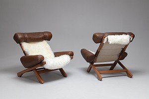 Arne Norell Pair of Armchairs