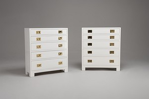 Two Chest of Drawers