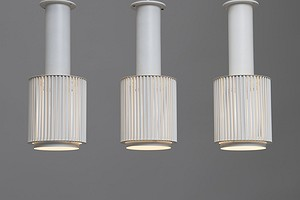 Set of Three Ceiling Lamps, Model no. A111