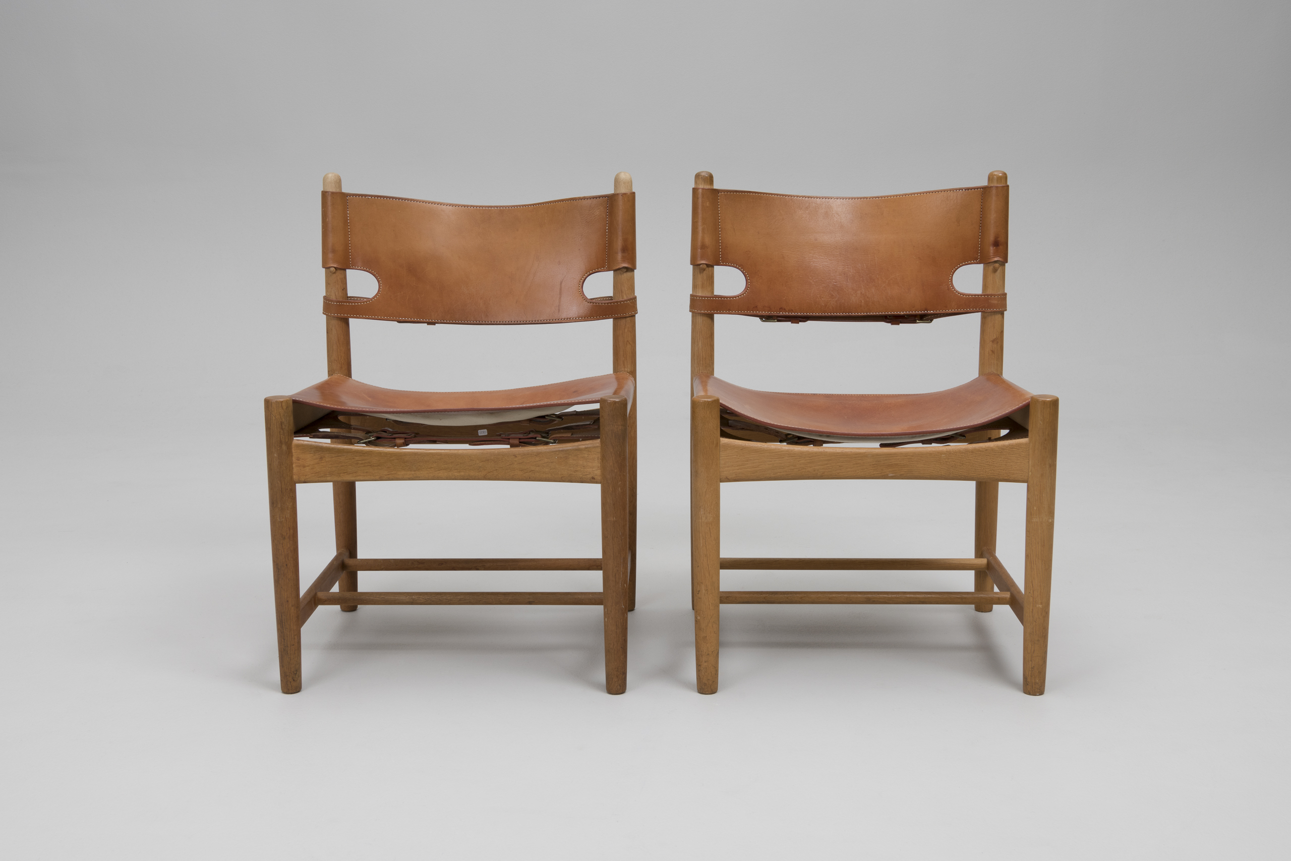 Set of Six 'Hunting' Chairs, Model no. 3227