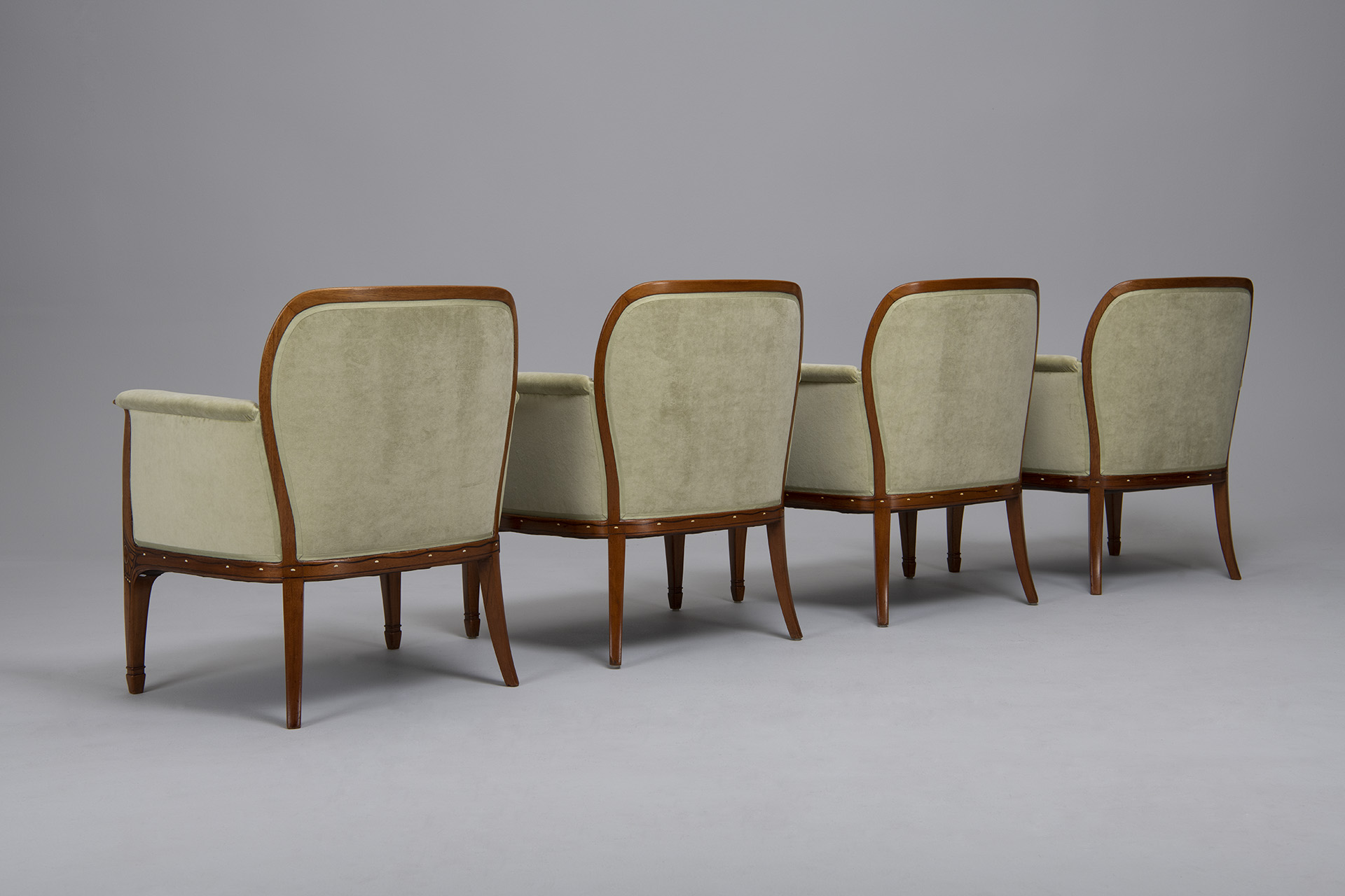 Set of Four Armchairs