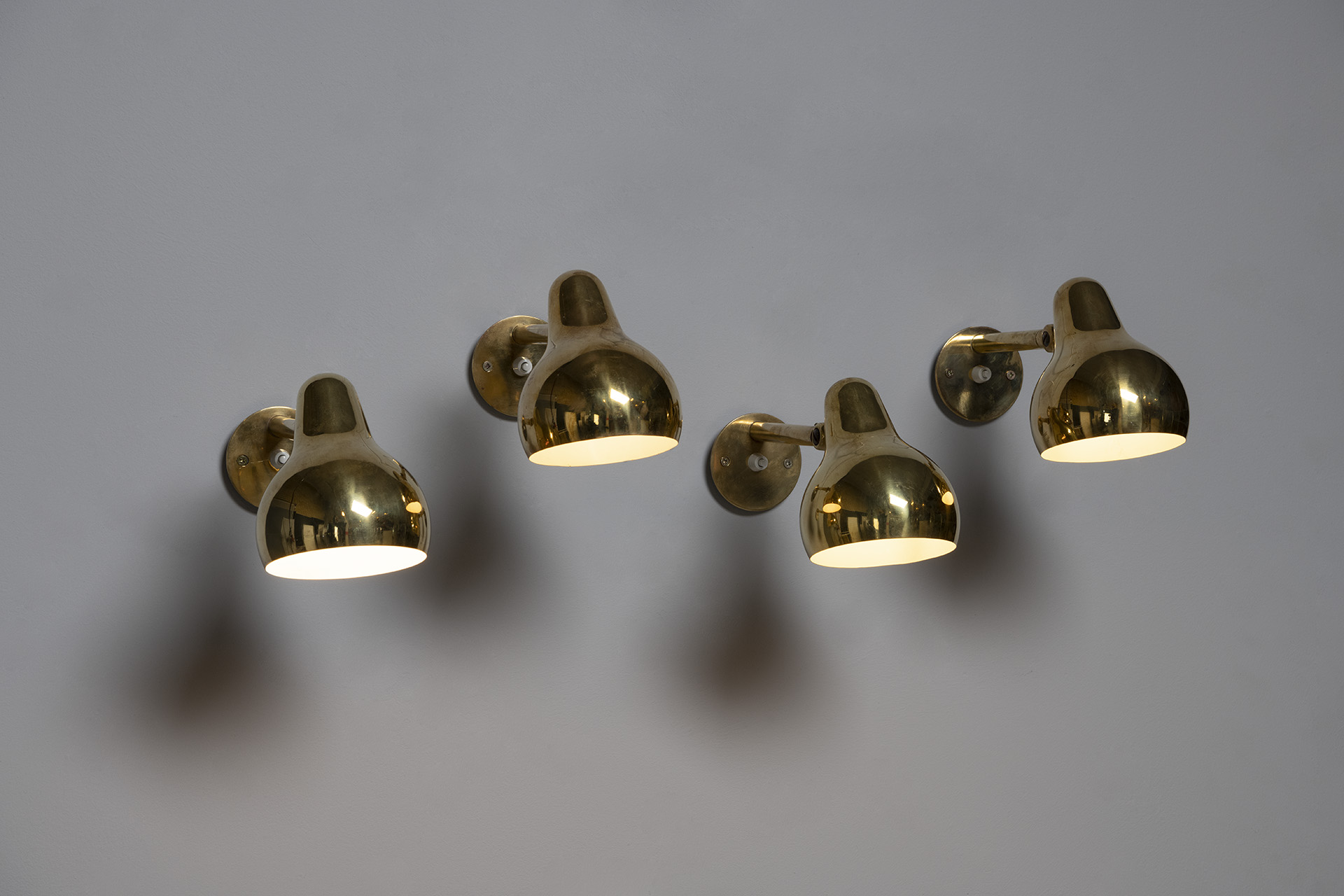 Set of Four Wall Lamps
