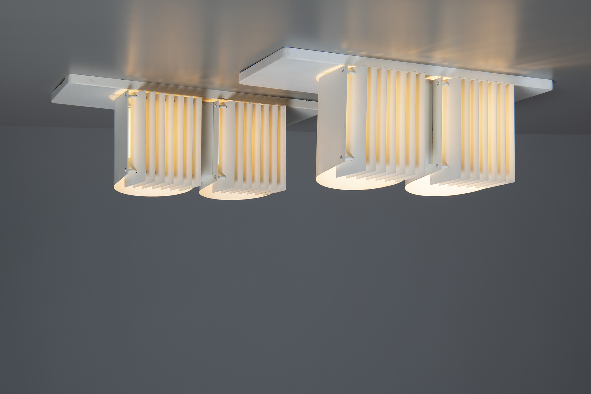 Pair of Ceiling Lamps, Model no. AE 7055