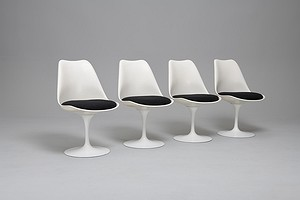 Set of Four 'Tulip' Chairs