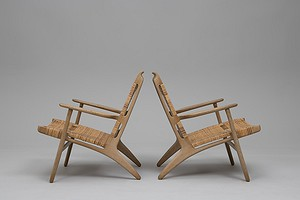 Pair of Armchairs, Model no. 'CH-27'