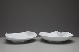 Two Large 'Veckla' Plates