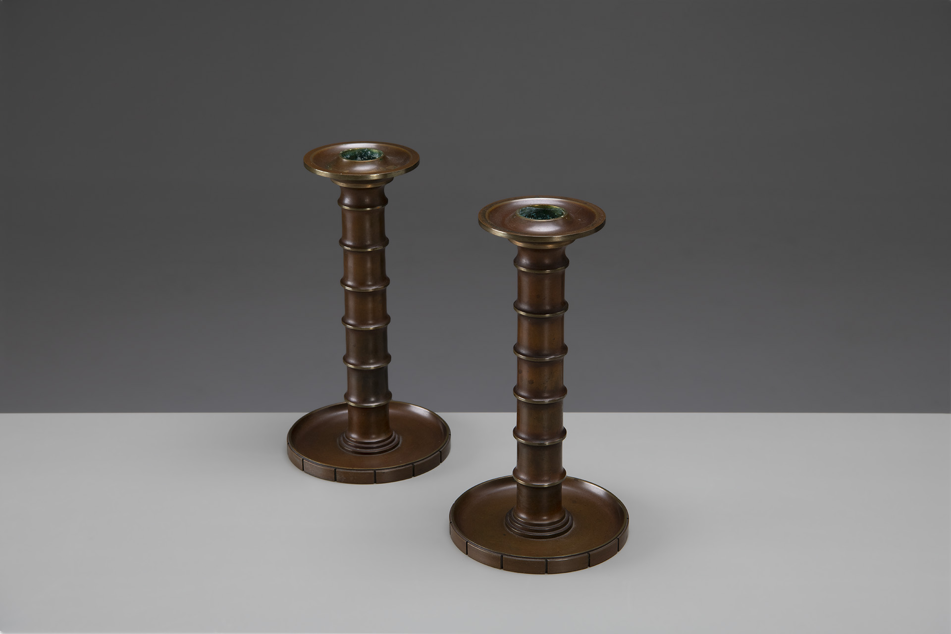 Pair of Candlesticks, Model no. 301