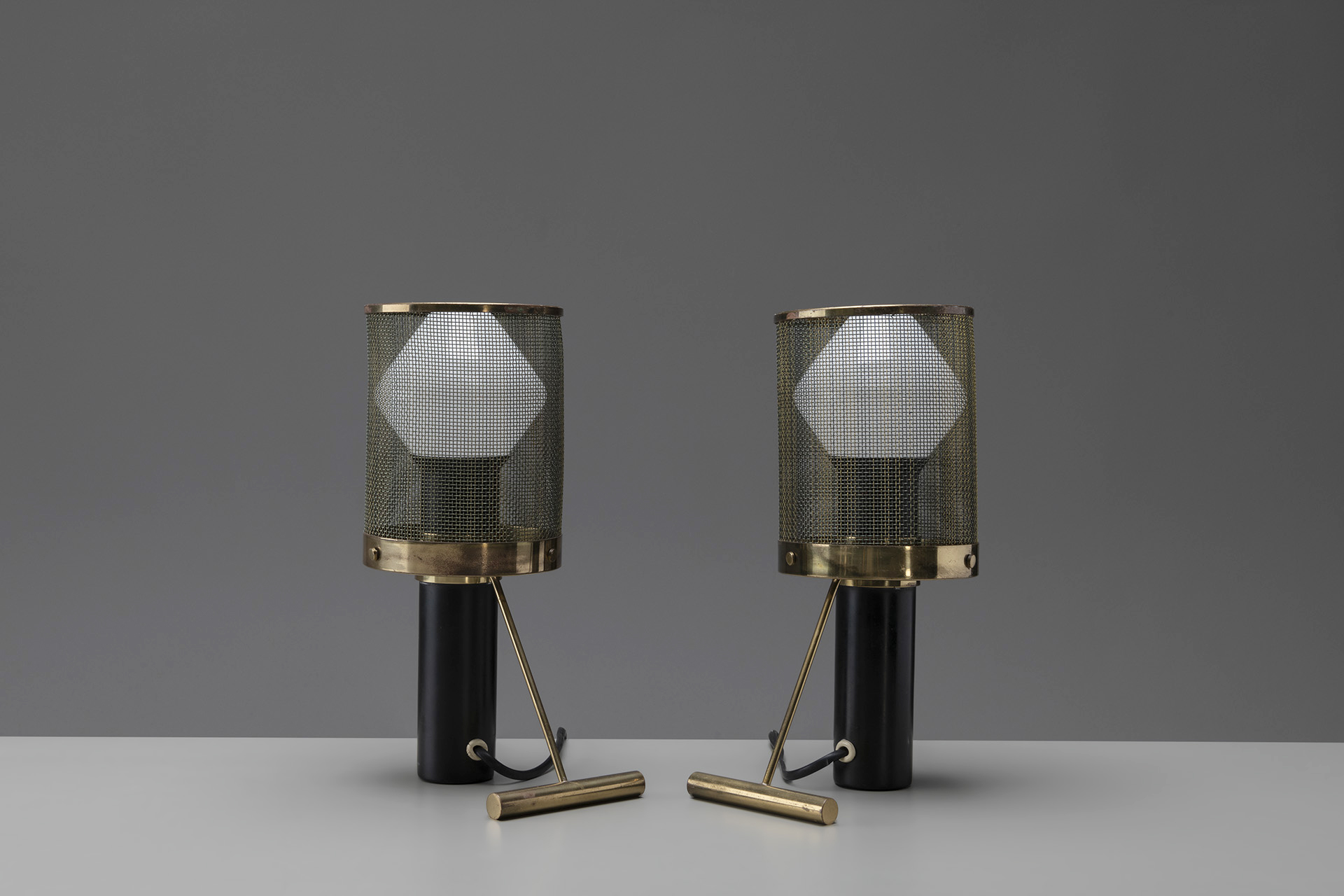 Pair of Table Lamps, Model no. K 11-81