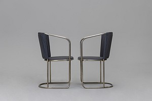 Pair of Armchairs from the 'Tösse' Bakery, Stockholm
