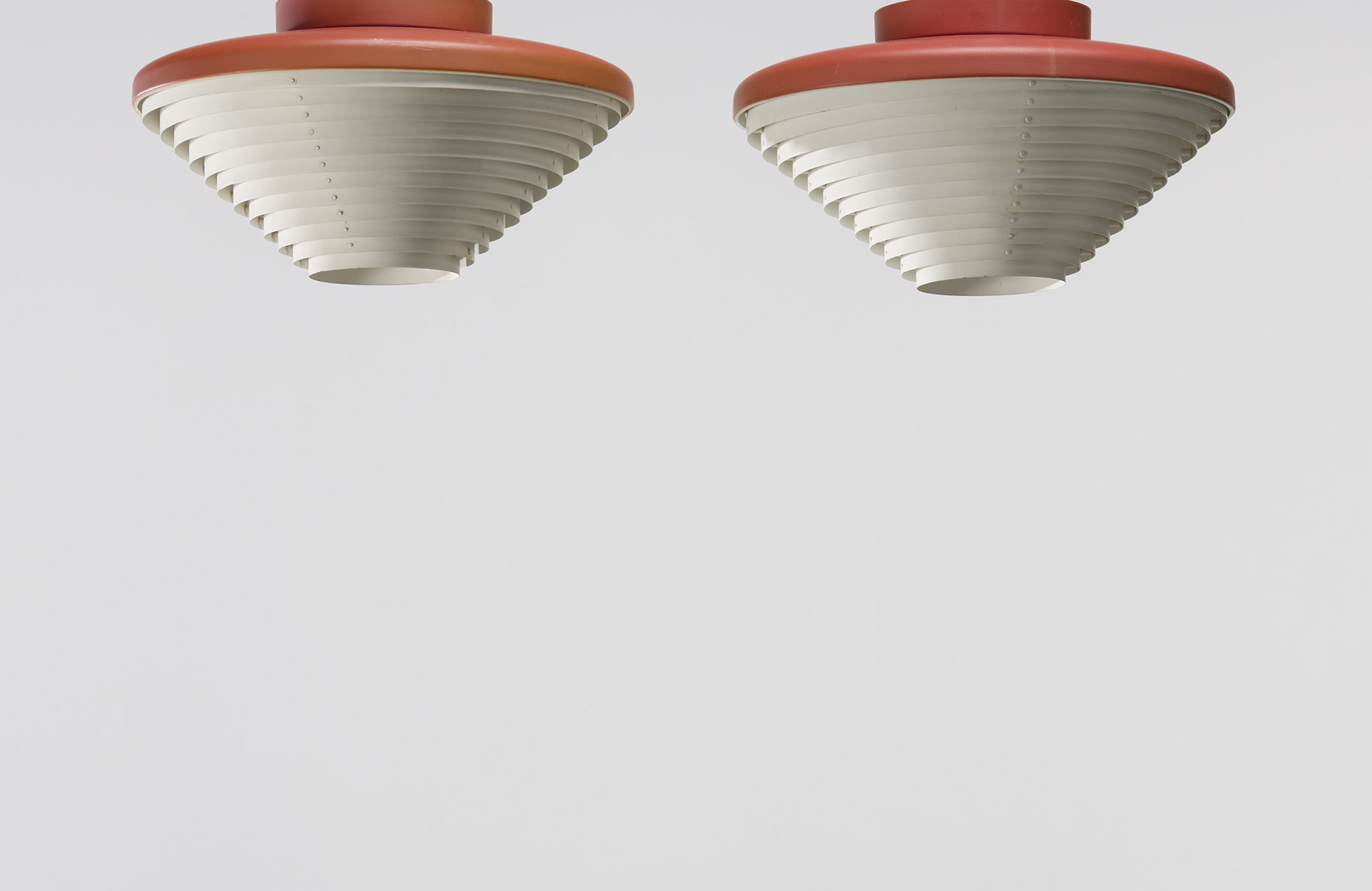 Pair of Ceiling Lamps, Model no. A 605
