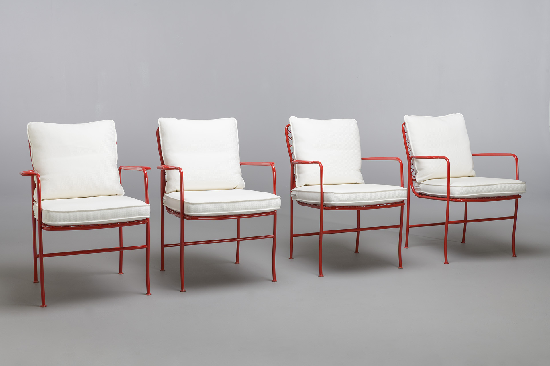 Set of Four Armchairs, Model no. 591