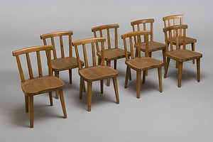 Set of Eight 'Utö' Chairs